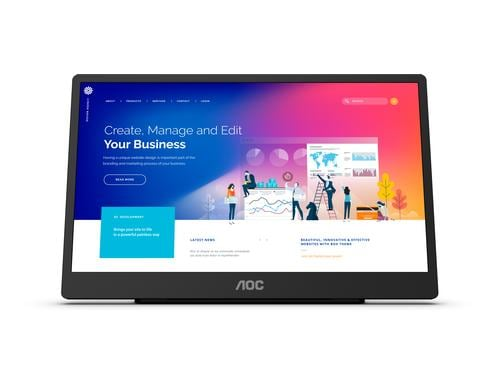 AOC 16 16T2 IPS Full HD touch display