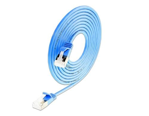 Wirewin Slim Light - Patch-Kabel - RJ-45 (M) bis RJ-45 (M) - 1 m - U/FTP - CAT 6a