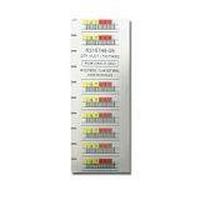 Quantum LTO-5 Barcode Labels series 000401-000600 - Strichcodeetiketten (Packung mit 200)
