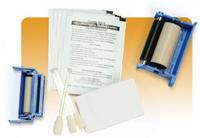 Zebra - 1 - Reinigungskassette - für P 310, 310C, 310F, 420, 520; Zebra P430i, P520i