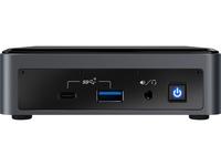 Intel Next Unit of Computing 10 Performance kit - NUC10i7FNKN - Barebone - Mini-PC - 1 x Core i7 10710U / 1.1 GHz - RAM 0 GB