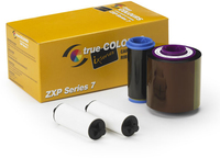 Zebra TrueColours ix Series Monochrome - 1 - Farbe (Cyan, Magenta, Gelb, Schwarz, Overlay) - Farbband - für ZXP Series 7