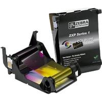 Zebra ix Series YMCKO - 1 - Farbe (Cyan, Magenta, Gelb, Schwarz, Overlay) - Farbband - für ZXP Series 1
