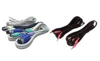 Avocent - Tastatur- / Video- / Maus- / Audio-Kabel - USB, HD-15 (VGA), Mini-Stecker (M) bis HD-15 (VGA), USB Typ B, Mini-Stecker