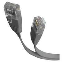 Cisco - Netzwerkkabel - RJ-45 (M) bis RJ-45 (M) - 8 m - flach - Grau