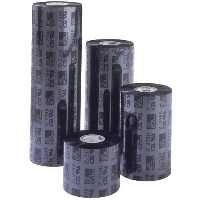 Zebra 3200 Wax/Resin - 1 - Schwarz - 174 mm x 450 m - Thermotransfer-Farbband - für PAX 170; S Series 160; Xi Series 170, 220, R
