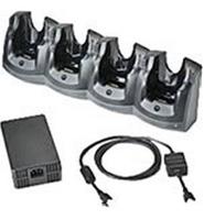 Zebra 4-Slot Ethernet Cradle Kit - Docking Cradle (Anschlussstand) - Ethernet - für Zebra MC55, MC5574, MC5590, MC55A0, MC55N0,