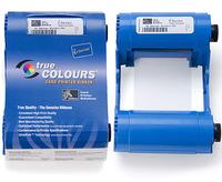 Zebra TrueColours i Series Eco Cartridge - 1 - Blau/einfarbig - Farbbandkassette - für Zebra P100i, P110i, P110i QuikCard ID Sol