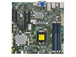 X11SSZ-TLN4F-B C236 DDR4 MATX