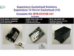 Supermicro - Montagekit für Systemlüfter - 1U