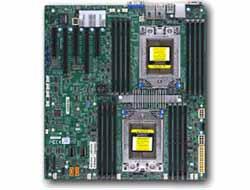 SUPERMICRO H11DSI-NT - 2.0 - Motherboard - Erweitertes ATX - Socket SP3 - 2 Unterstützte CPUs