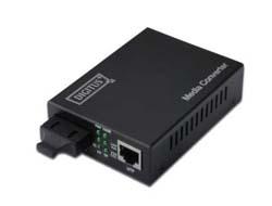 DIGITUS Professional DN-82120-1 - Medienkonverter - GigE - 10Base-T, 1000Base-SX, 100Base-TX, 1000Base-T - RJ-45 / SC multi-mode