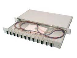 DIGITUS Professional DN-96321/3 - Glasfaserkabelkiste - 1U - 48.3 cm (19