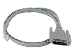 RJ45 TO DB25M S/T CABLE