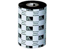 Zebra 3400 Wax/Resin - 1 - Schwarz - 220 mm x 450 m - Thermotransfer-Farbband - für Xi Series 220XiII, 220XiIII, 220XiIIIPlus