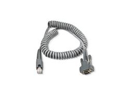 Intermec - Kabel seriell - DB-9 - 2 m - gewickelt - für Intermec CV30, CV60, SR61, SR61B, SR61T