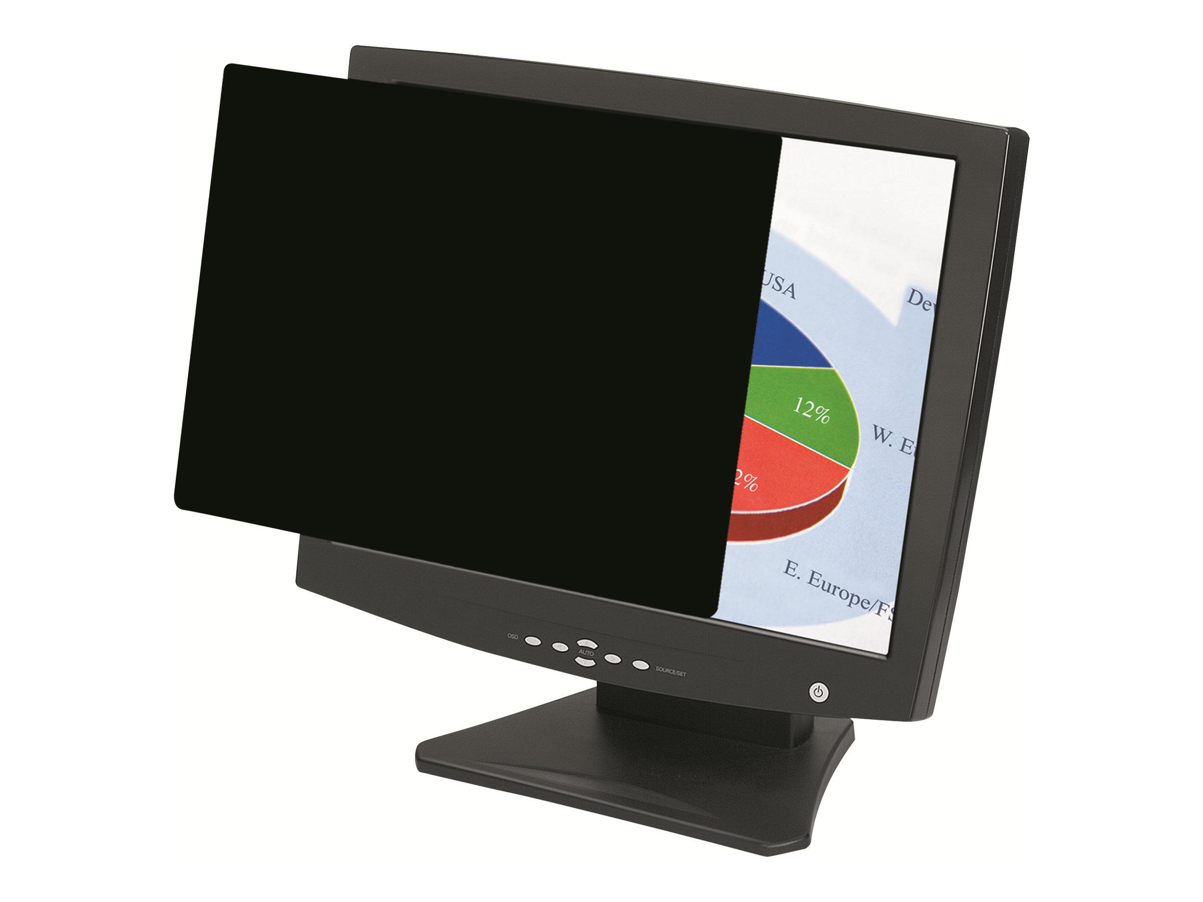 Fellowes PrivaScreen Blackout - Blickschutzfilter für Bildschirme - 43,2 cm Breitbild (17 Zoll Breitbild)