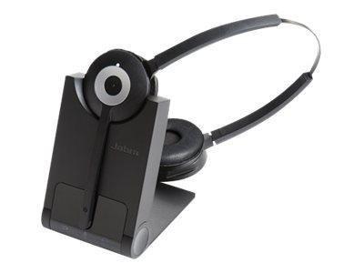 Jabra PRO 930 Duo MS - Headset - konvertierbar - DECT - kabellos