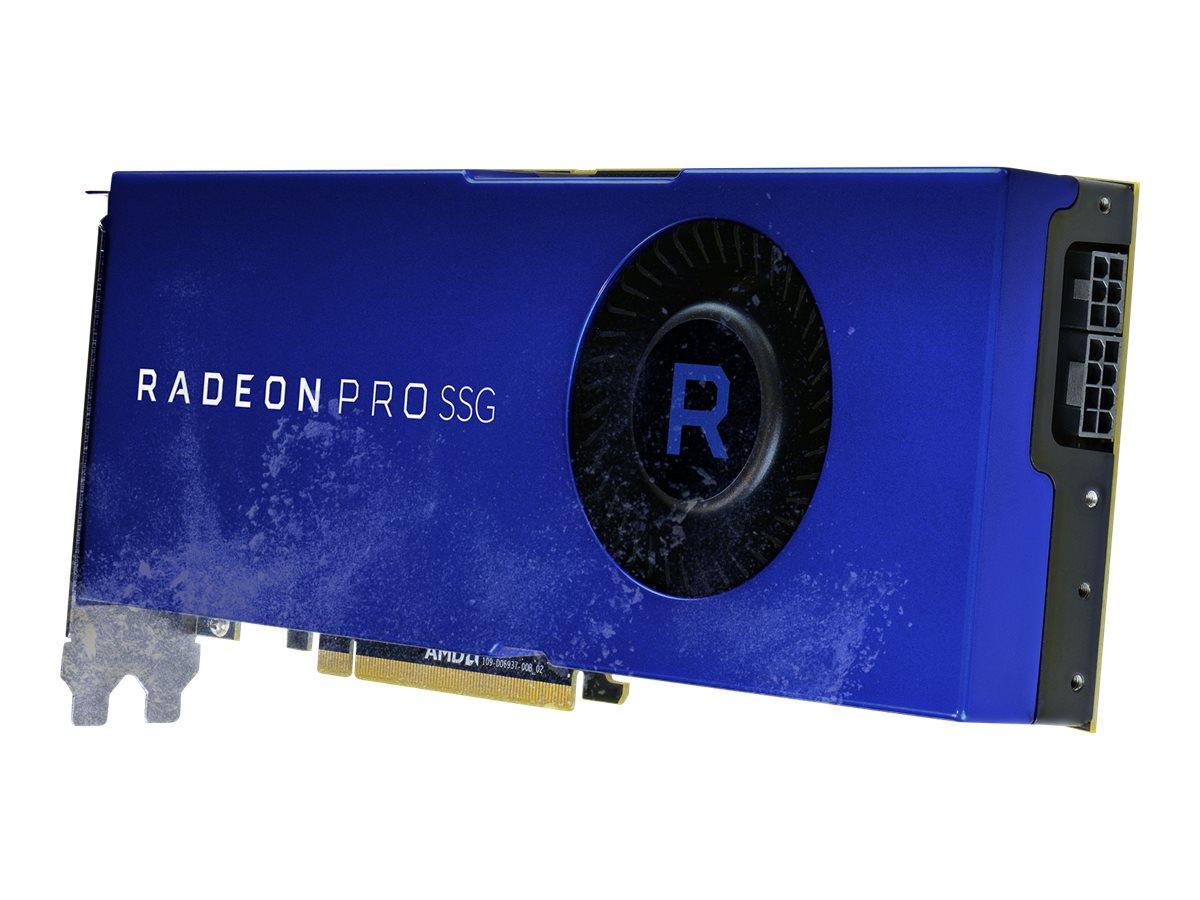 Radeon Pro SSG - Grafikkarten - Radeon Pro SSG - 16 GB HBM2 + 2 TB SSG - PCIe 3.0 x16 - 6 x Mini DisplayPort