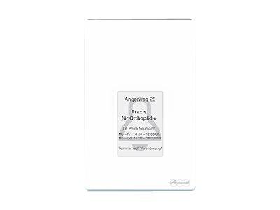 Auerswald TFS-Dialog 400 - Zugriffskontroll-Terminal mit Fingerabdruck-Lesegerät - weiss