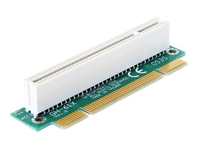 DeLOCK Riser Card PCI Angled 90° Left insertion - Riser Card