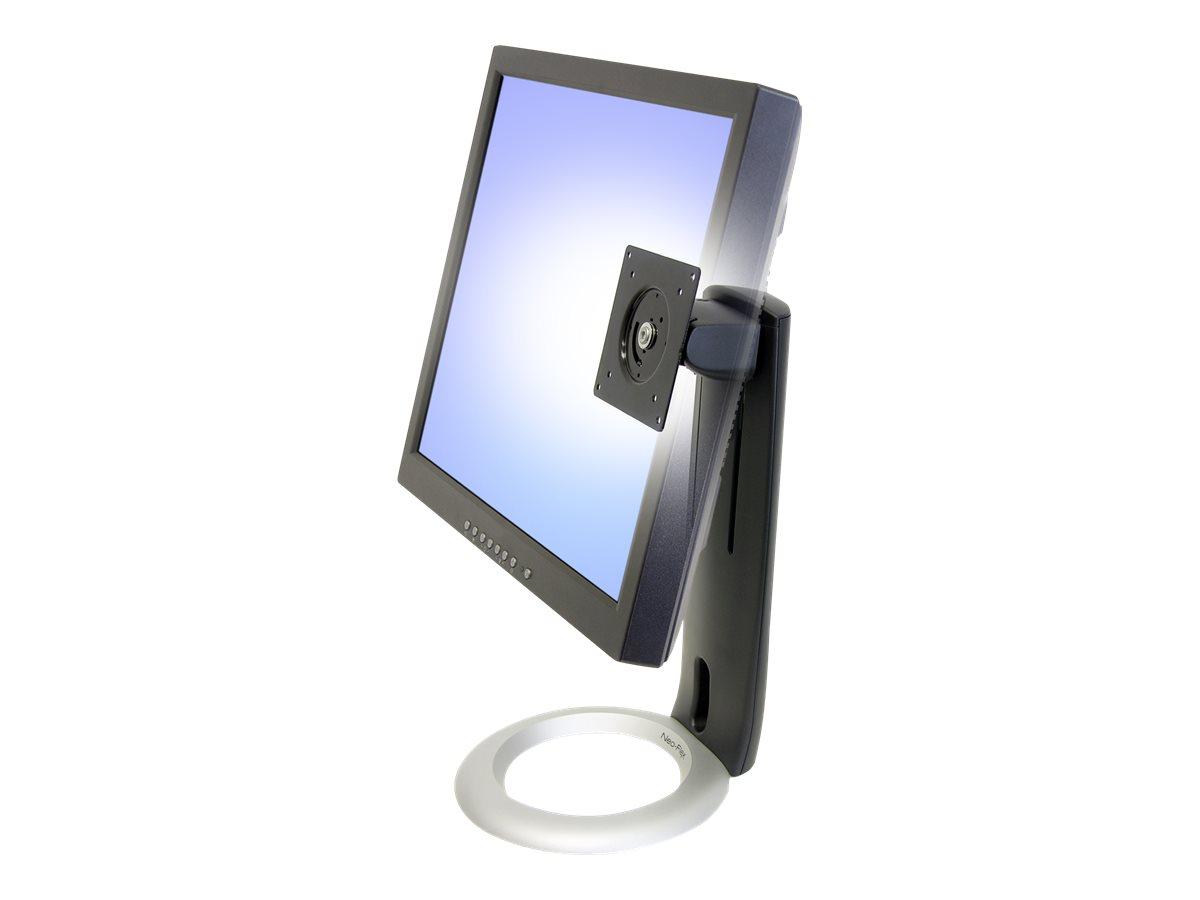 Ergotron Neo-Flex LCD Stand - Aufstellung für Flat Panel - Schwarz