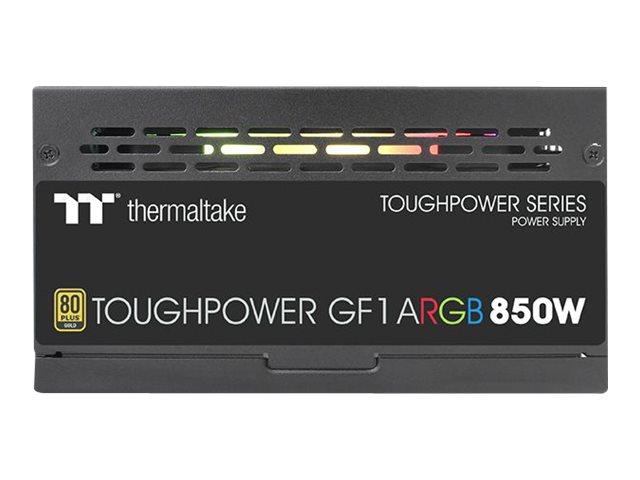 Thermaltake ToughPower GF1 ARGB 850W - TT Premium Edition - Netzteil (intern) - ATX12V - 80 PLUS Gold - 850 Watt