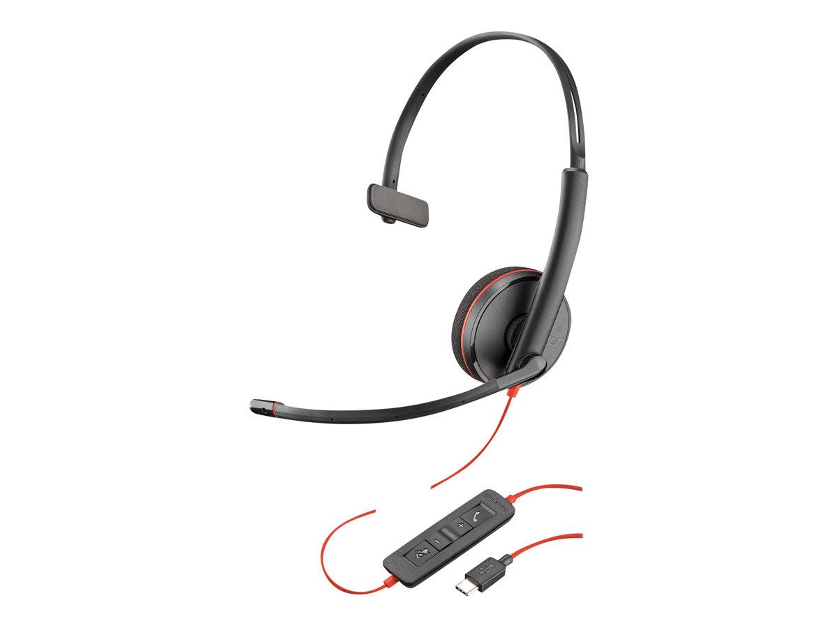 Plantronics Blackwire C3210 USB-C - 3200 Series - Headset - On-Ear - kabelgebunden - USB-C