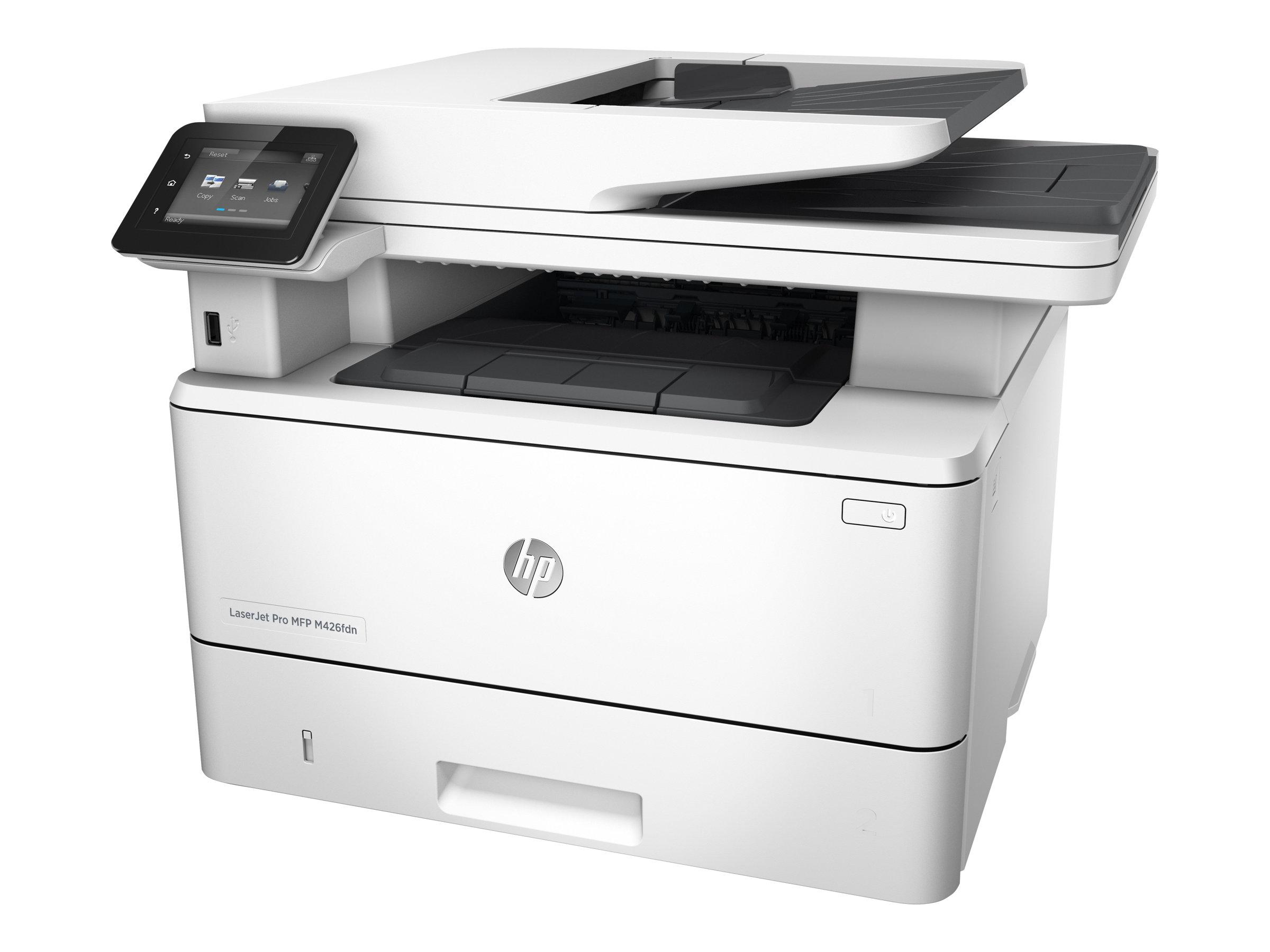HP LaserJet Pro MFP M426fdn - Multifunktionsdrucker - s/w - Laser - Legal (216 x 356 mm) (Original) - A4/Legal (Medien)