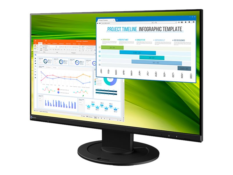 EIZO FlexScan EV2360-BK - LED-Monitor - 57.2 cm (22.5