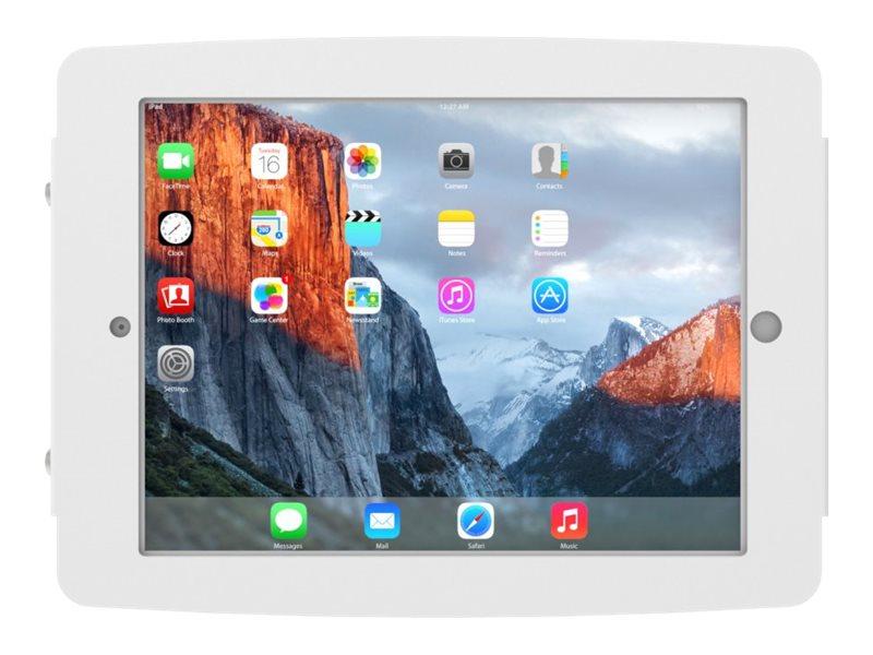 Compulocks Space - Gehäuse für Tablett - verriegelbar - hochwertiges Aluminium - weiss - Bildschirmgrösse: 32.8 cm (12.9