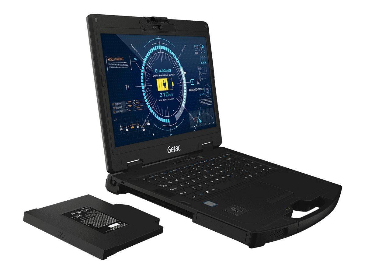 Getac S410 G3 Basic - Robust - Core i5 8265U / 1.6 GHz - Win 10 Pro - 8 GB RAM - 256 GB SSD