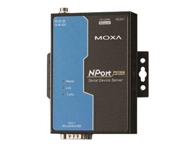 Moxa NPort P5150A - Geräteserver - 100Mb LAN, RS-232, RS-422, RS-485