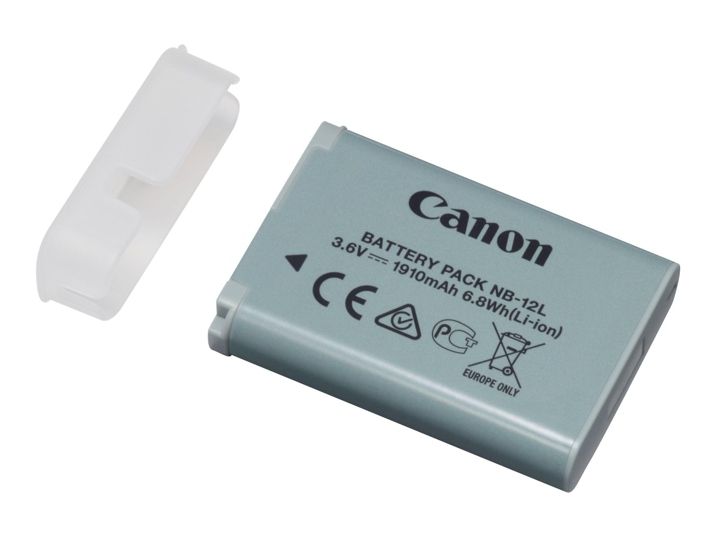 Canon NB-12L - Batterie - Li-Ion - 1910 mAh - für iVIS mini X; LEGRIA mini X; PowerShot G1 X Mark II, N100; VIXIA mini X