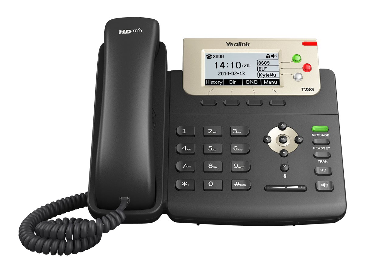 Yealink SIP-T23G - VoIP-Telefon - SIP, SIP v2 - 3 Leitungen
