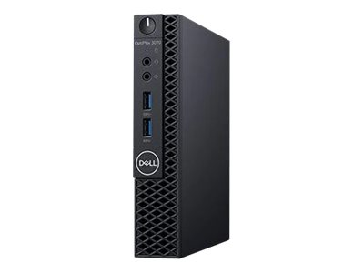 Dell OptiPlex 3070 - Micro - 1 x Core i5 9500T / 2.2 GHz - RAM 8 GB - SSD 256 GB - UHD Graphics 630