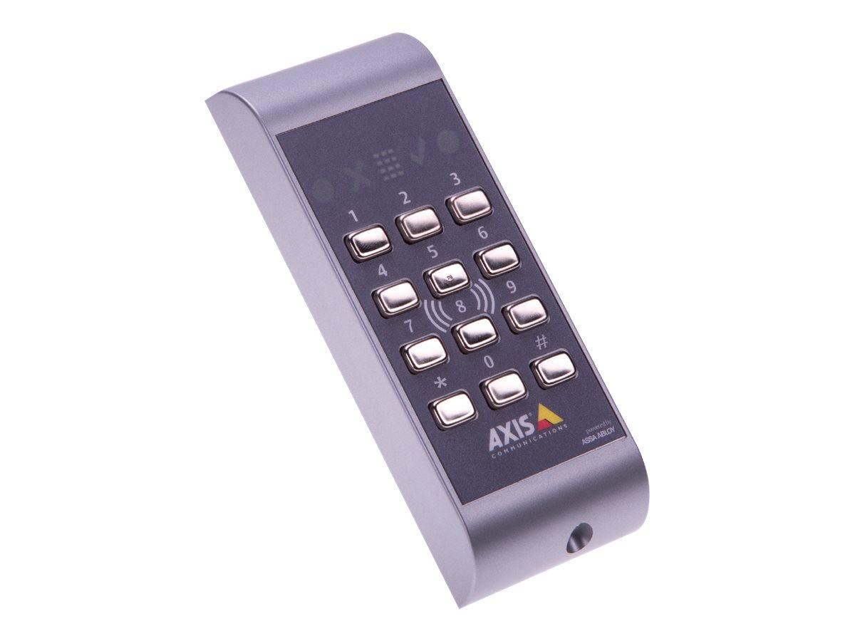 Axis A4011-E Reader - RFID berührungsloser Leser/Tastatur - kabelgebunden