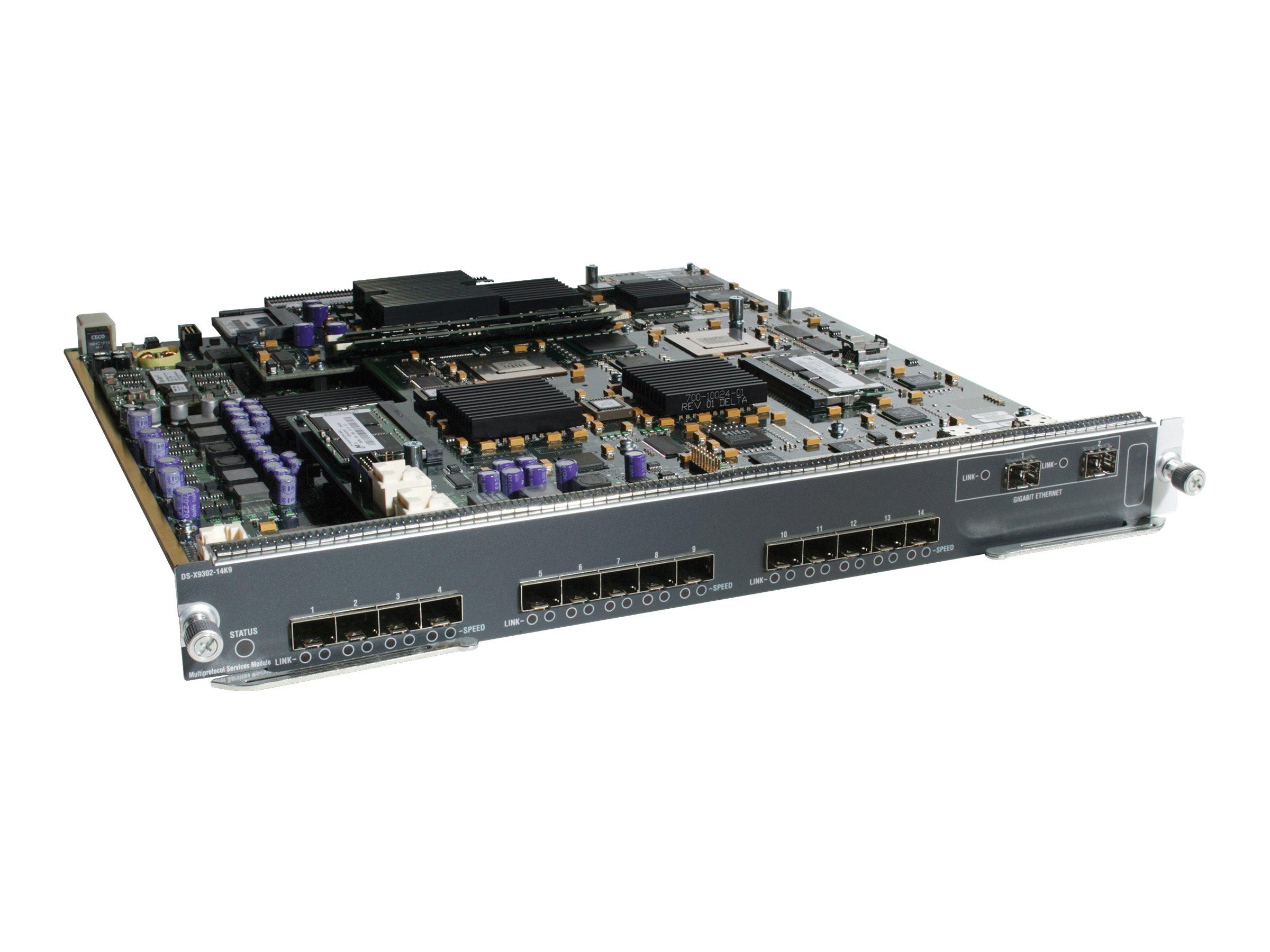 HPE - Erweiterungsmodul - Fibre Channel - Fibre Channel x 16 - für StoreFabric SN6610C