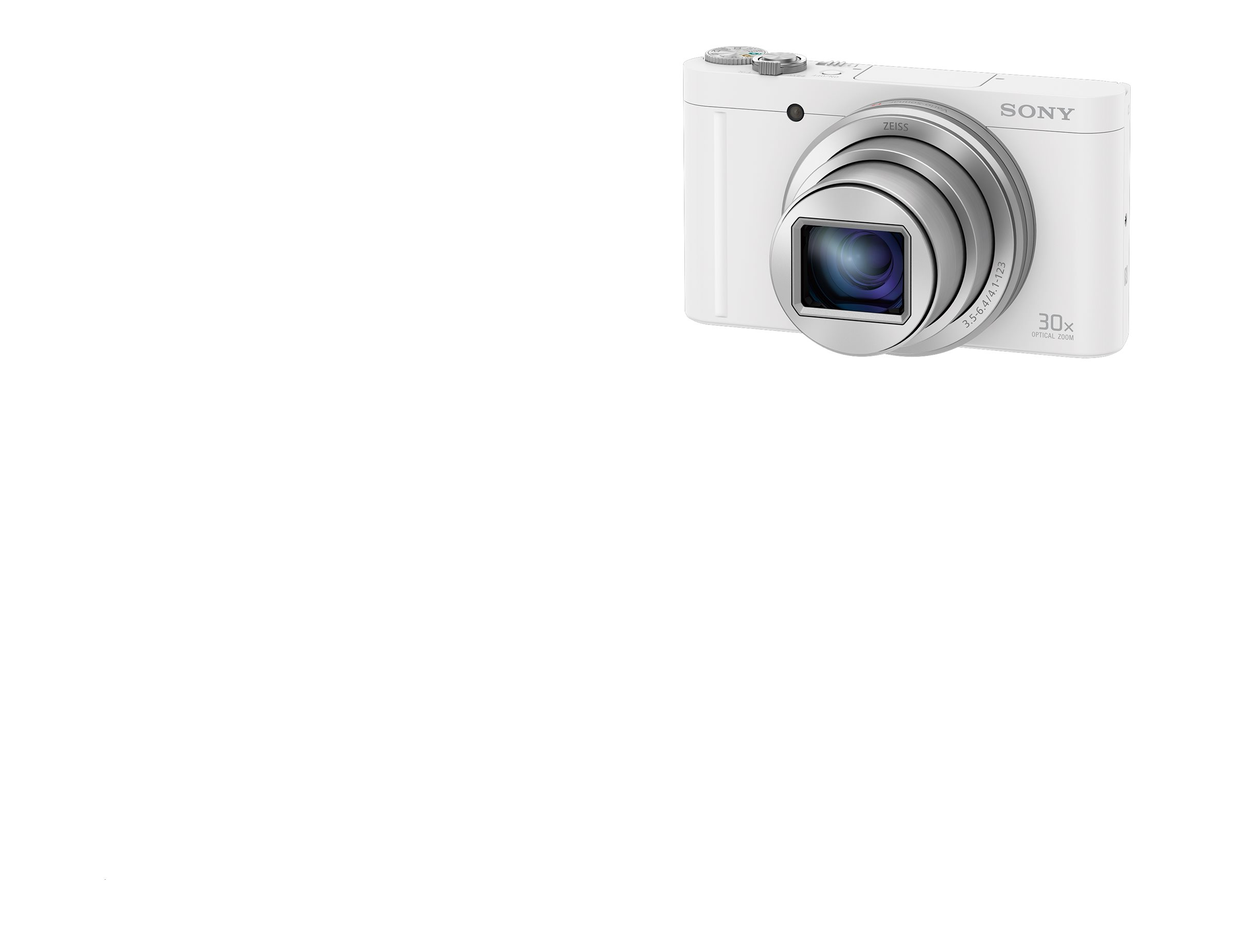Sony Cyber-shot DSC-WX500 - Digitalkamera - Kompaktkamera - 18.2 MPix - 30x optischer Zoom - ZEISS