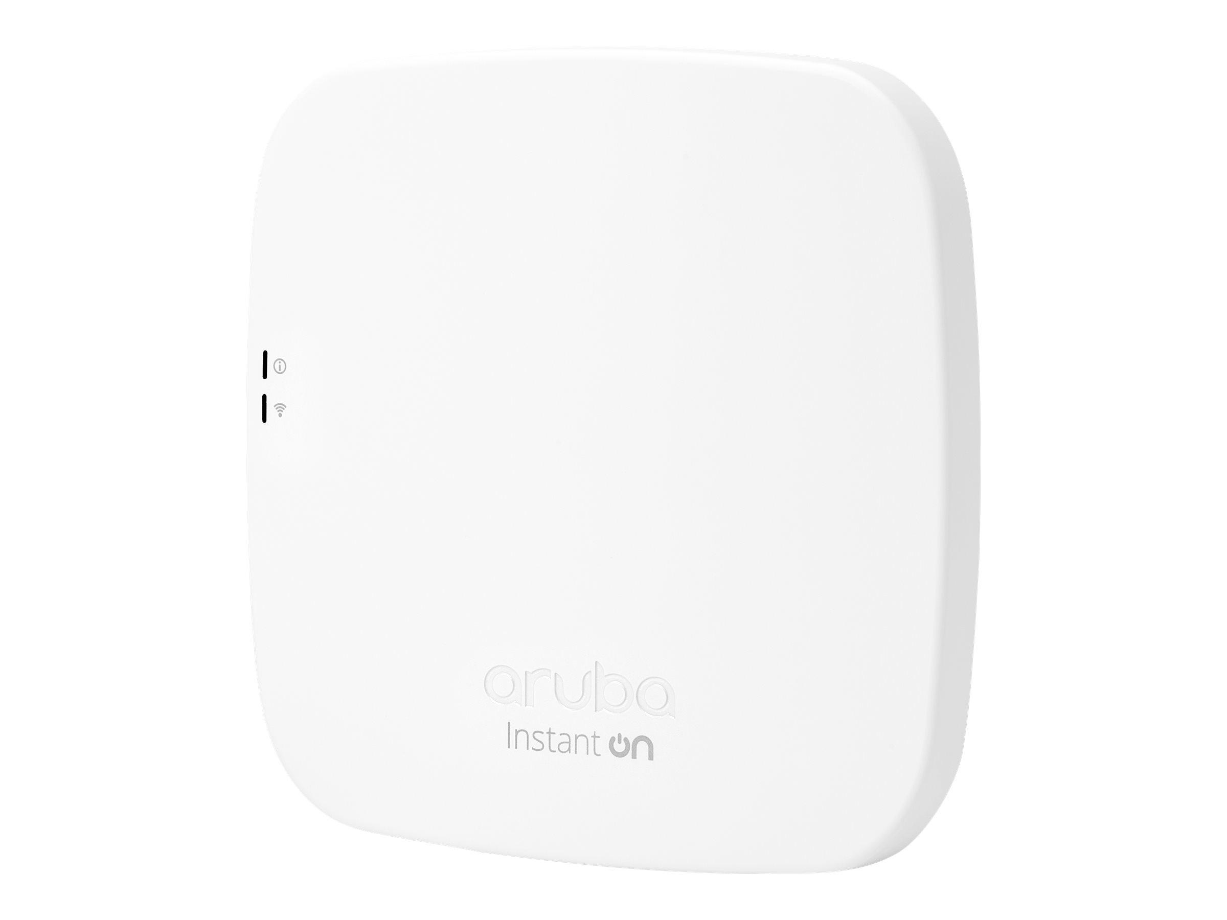 HPE Aruba Instant ON AP12 (EG) - Funkbasisstation - 802.11ac Wave 2 - Bluetooth, Wi-Fi 5 - 2.4 GHz, 5 GHz