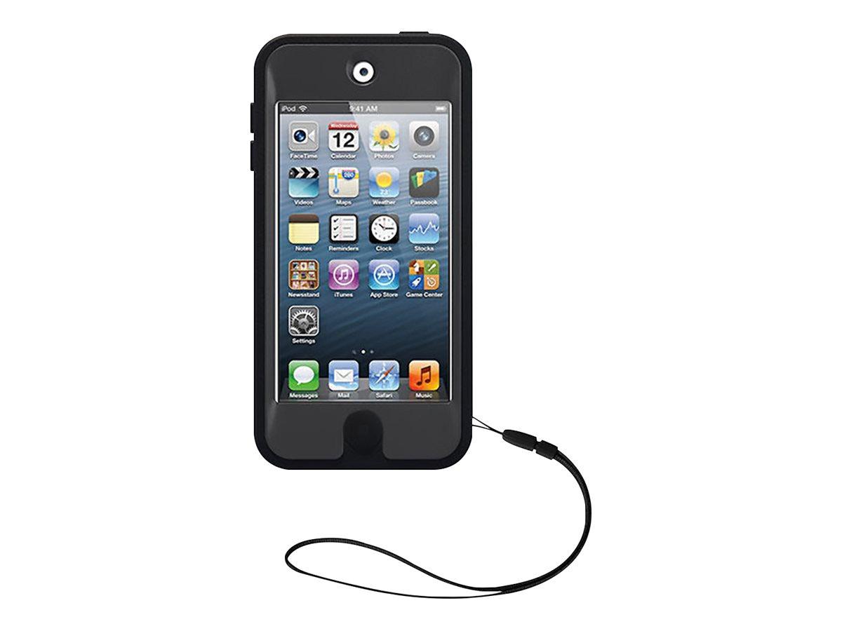 OtterBox Defender Series - Pro Pack - Schutzhülle für Player - Silikon, Polycarbonat - Coal - für Apple iPod touch (5G, 6G, 7G)