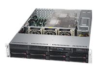 Supermicro SuperServer 6029P-TRT - Server - Rack-Montage - 2U - zweiweg - RAM 0 GB