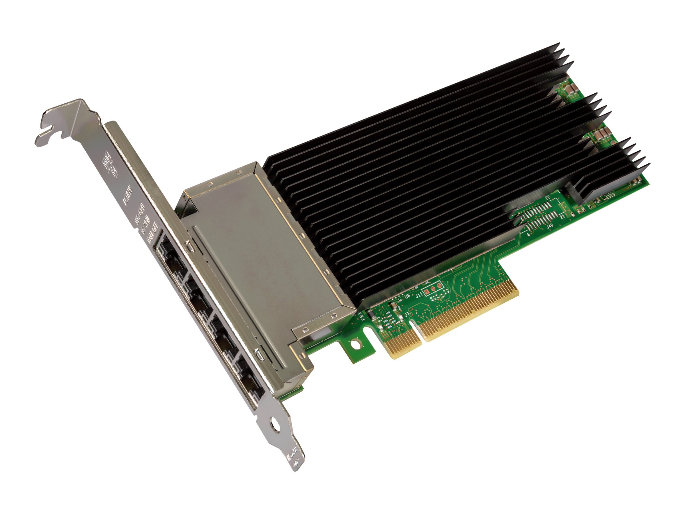 Intel Ethernet Converged Network Adapter X710-T4 - Netzwerkadapter - PCIe 3.0 x8 Low-Profile - 10Gb Ethernet x 4