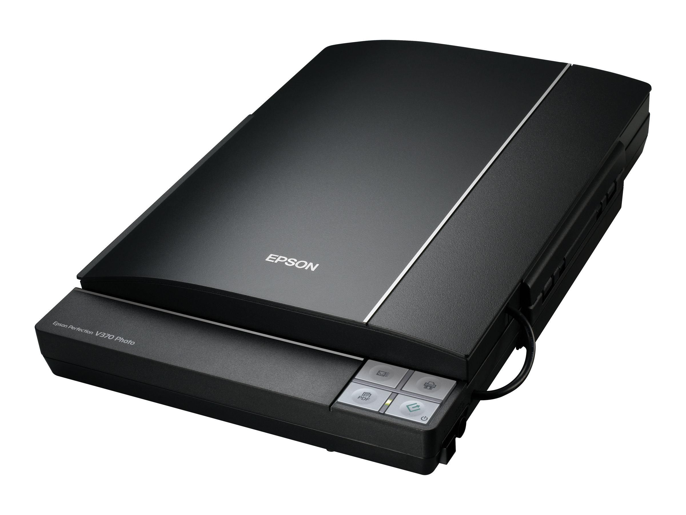 Epson Perfection V370 Photo - Flachbettscanner - A4 - 4800 dpi x 9600 dpi - USB 2.0