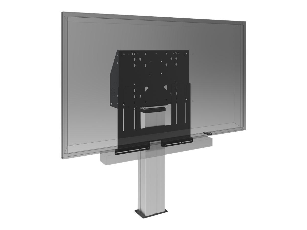 Iiyama - Montagekomponente (Soundbar-Halterung) für Soundbar - Schwarz - Bildschirmgrösse: 81.3-218.4 cm (32