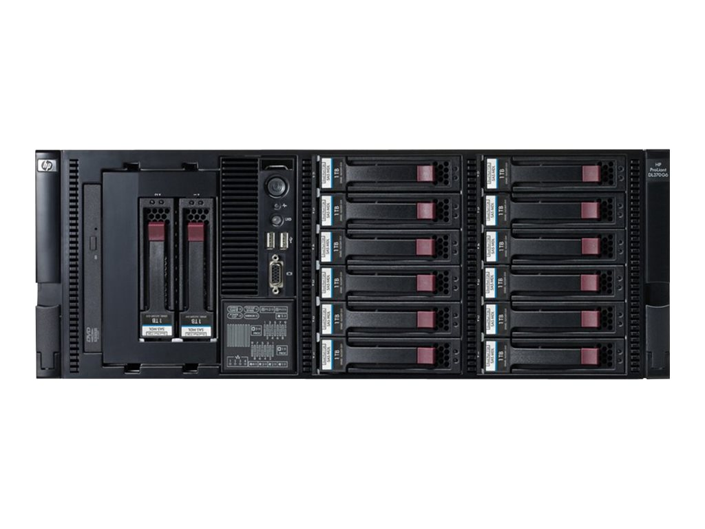 HPE ProLiant DL370 G6 Performance - Server - Rack-Montage - 4U - zweiweg - 2 x Xeon X5550 / 2.66 GHz