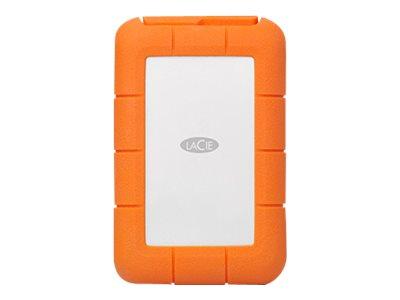 LaCie Rugged RAID PRO STGW4000800 - Festplatten-Array - 4 TB - 2 Schächte - HDD 2 TB x 2 - USB 3.1 (extern)