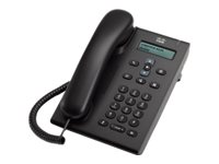 Cisco Unified SIP Phone 3905 - VoIP-Telefon - SIP, RTCP - holzkohlefarben