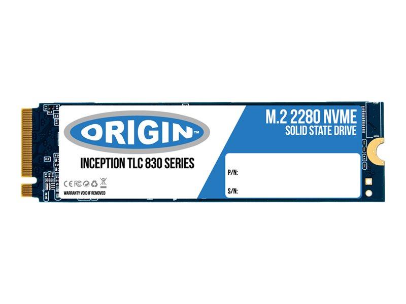 Origin Storage - Solid-State-Disk - 120 GB - intern - M.2 2280 - PCI Express 3.0 x4 (NVMe)
