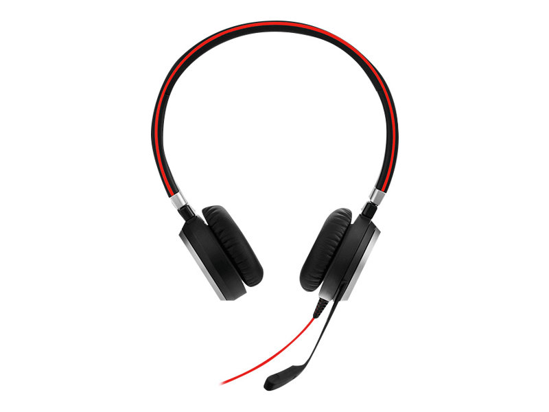 Jabra Evolve 40 MS stereo - Headset - On-Ear - kabelgebunden